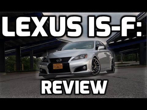 Lexus IS-F Review: Daily Driven Sleeper!!!