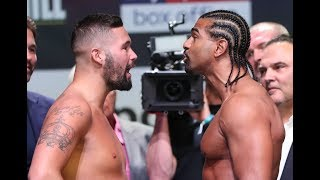 Bellew vs Haye 2 and undercard weigh-in