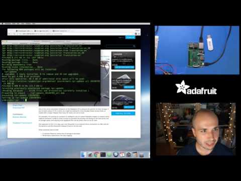 Raspberry Pi 3 quick look at native USB boot with Tony D! @Raspberry_Pi #LIVE