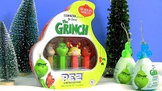 Grinch Pez Doce Surpresa Dr. Seuss The Grinch Ornament