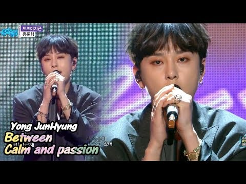 [Comeback Stage] YONG JUN HYUNG - Between Calm and passion , 용준형 - 뜨뜨미지근 Show Music core 20180512