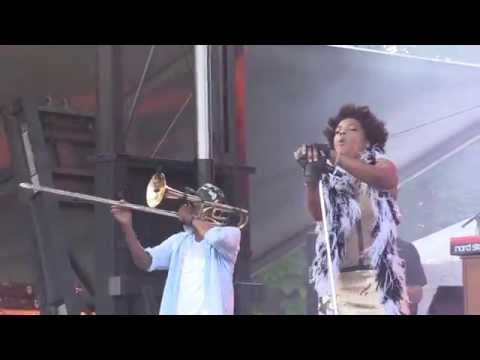 Galactic with Macy Gray - Do Something 9/5/15 Chicago, IL @ North Coast Music Festival