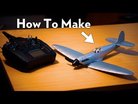 How To Make A Micro R/C Spitfire