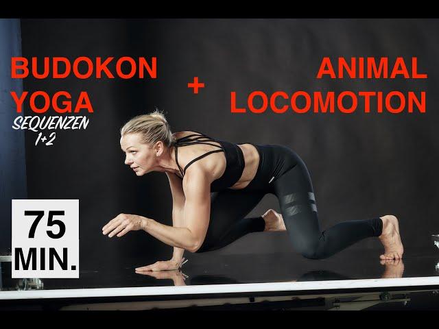 Budokon Yoga & Animal Locomotion| Sequenzen 1+2 für Anfänger & Geübte| Core, Ausdauer, Stärke, Spaß