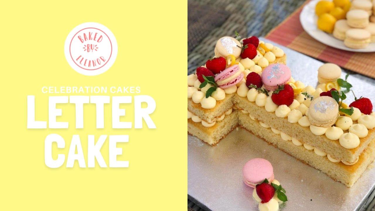 Letter Cake   Celebration Cakes