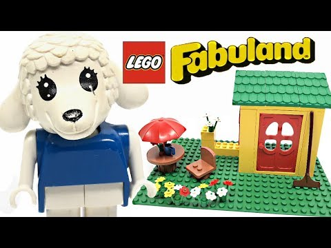 LEGO Fabuland Lisa Lamb's House review! 1982 set 3654!