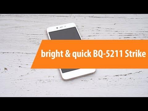 Распаковка смартфона Bright & Quick BQ-5211 Strike / Unboxing Bright & Quick BQ-5211 Strike