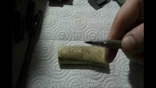 How I Do Scrimshaw (Part 1 - Prepping Your Surface Area)