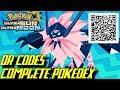 Pokémon Ultra Sun and Ultra Moon - Complete Pokédex (ALL QR Codes & Shinies)