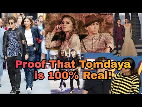 This Video Will Make You Believe Tom Holland And Zendaya Are Dating 100% #Tomdaya #PeterMj