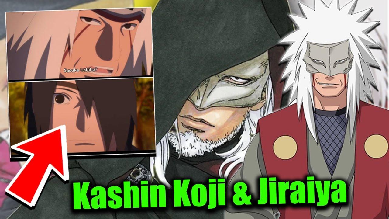 Jiraiya Realises It S Sasuke Kashin Koji Is Jiraiya Naruto Boruto S New Rasengan Explained