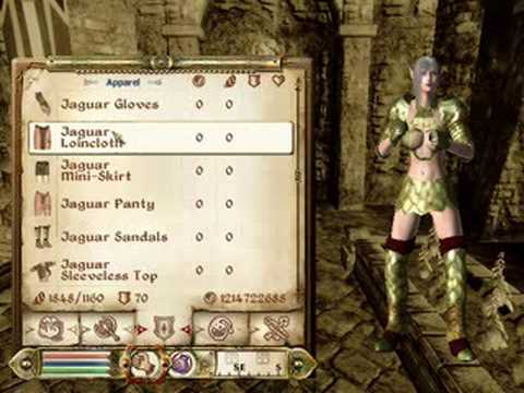 how to make a hot oblivion character without mods breton