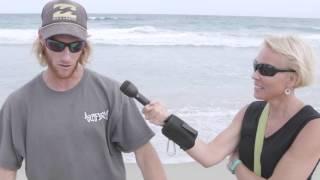 Video: Shark bite victim says he lands shark who bit him