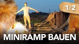 Miniramp bauen 1/2 (inkl. Bauplänen) - Heimwerkerking Fynn Kliemann