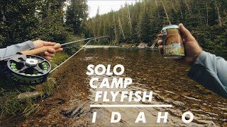 SOLO TRUCK CAMPING AΝD FLY FISHING IN IDAHO