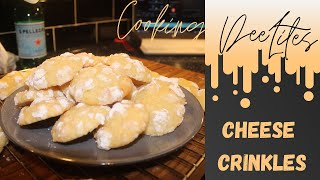Cheese Crinkles  A Weird Combination But How Did It Taste????  Simple Recipe, Easy To Do