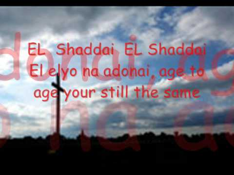 El Shaddai with Lyrics  DWXI PPFI