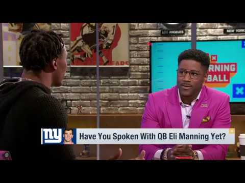 Brandon Marshall i Hope to Make Odell Job Easier and have his Best Year & More