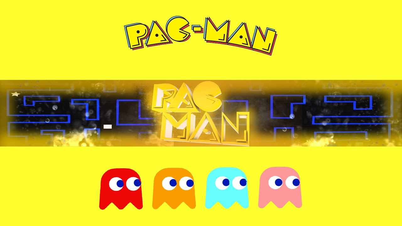 Ideal BANNER TEMPLATE: Pac Man #3 - YouTube UG47