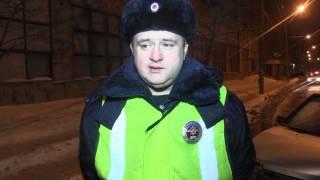 Опубликовано видео погони за пьяным водителем в Саратове