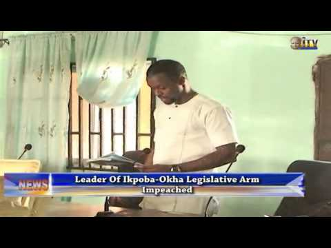 Leader of Ikpoba-Okha Legislative Arm has been impeached