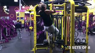 Simple and Easy Planet Fitness Workout - Cardio and Upper Body
