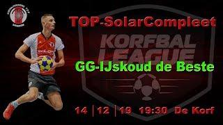 TOP/SolarCompleet 1 tegen Groen Geel/IJskoud de Beste 1, zaterdag 14 december 2019