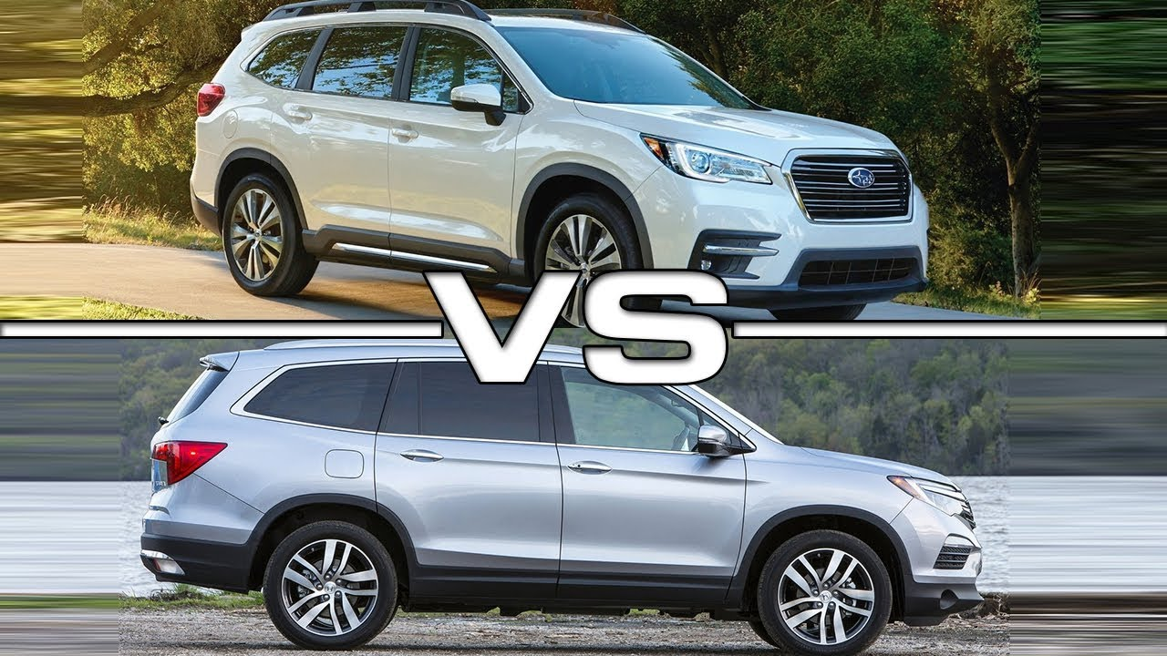 2018 Volkswagen Suv >> 2019 Subaru Ascent vs 2017 Honda Pilot - YouTube
