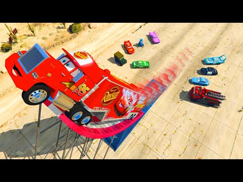 Thumbnail: Disney Pixar Cars Mack Truck Lightning McQueen and Friends Videos for Kids Songs for Children