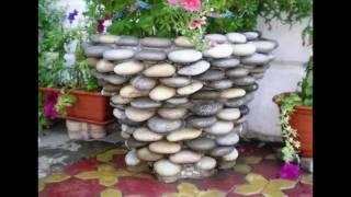 Клумбы из камней своими руками