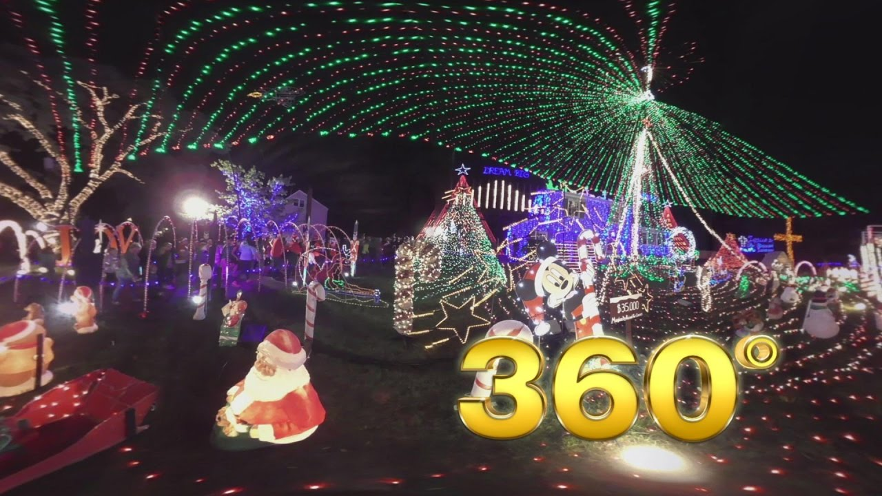 Christmas Light Fight.The Great Christmas Light Fight 360 New Jersey