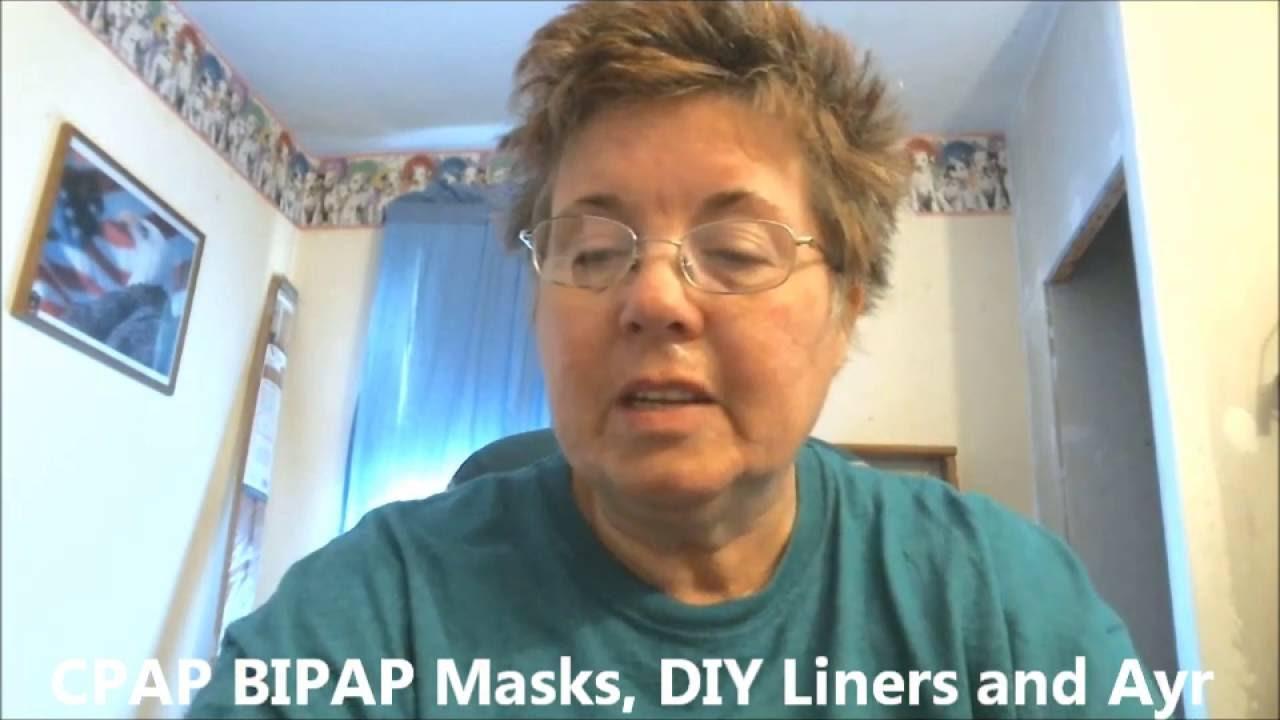CPAP BIPAP Masks DIY Liners Ayr Nasal Gel Review