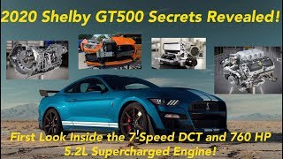 2020 Shelby GT500 Ford Mustang Goes 0-100-0 in 10.6 Seconds | First Look Inside 7-Speed DCT!