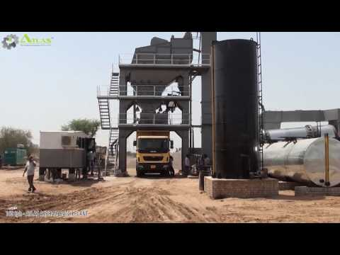 Asphalt Mixing Plant At Work | Batch Mixing Process | How Does Asphalt Plant Work