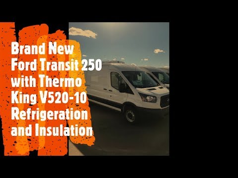 New Medium Roof Ford Transit 250 with ThermoKing V520-10 Refrigeration