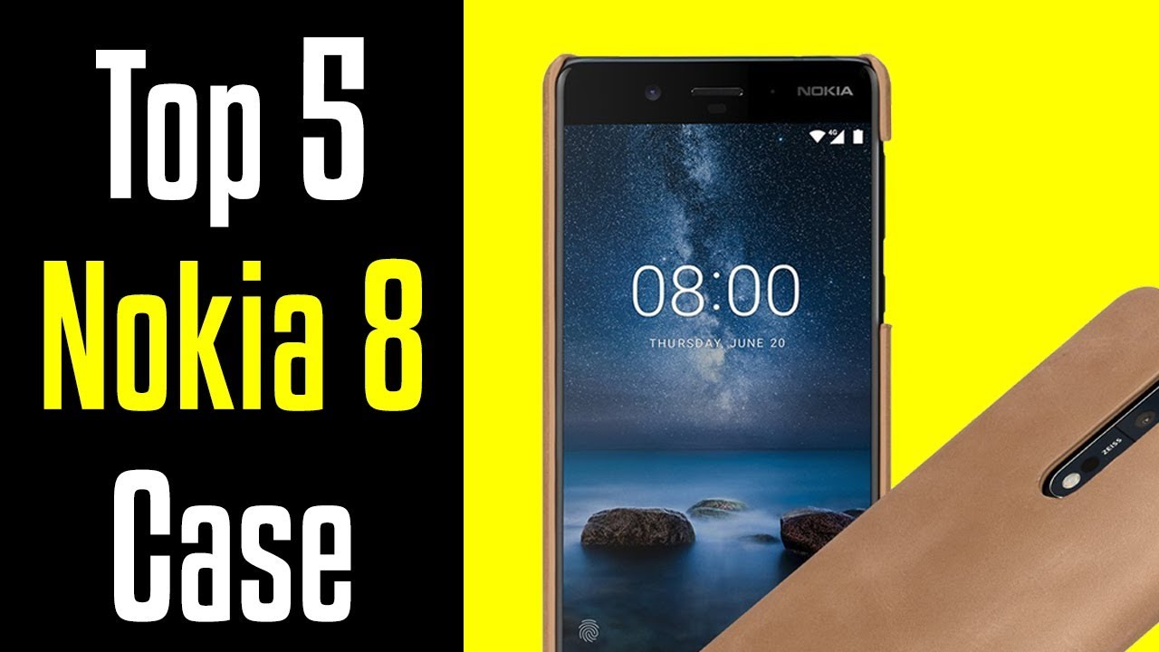 reputable site 2fb7f 2272a 🔻Top 5 Best Nokia 8 Cases!🔺[4K]