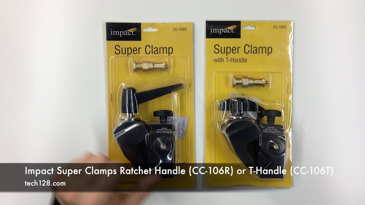 6 Pack Impact CC-128 Double Super Clamp