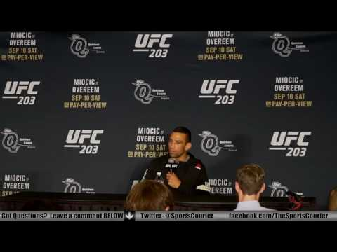 UFC 203: Fabricio Werdum on Bizarre Travis Browne Fight, Stipe Miocic
