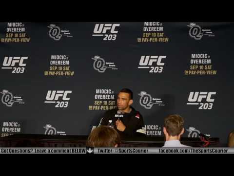 UFC 203: Fabricio Werdum on Bizarre Travis Browne Fight, Stipe Miocic