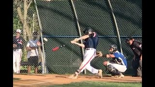 Danny Serretti 3 homeruns vs Westfield May 2018