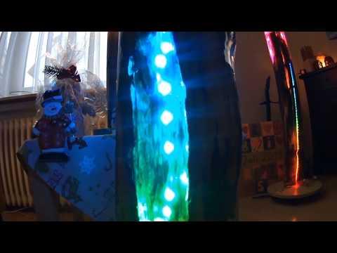 Lichtskulptur light sculptur resin wood Tosalignea