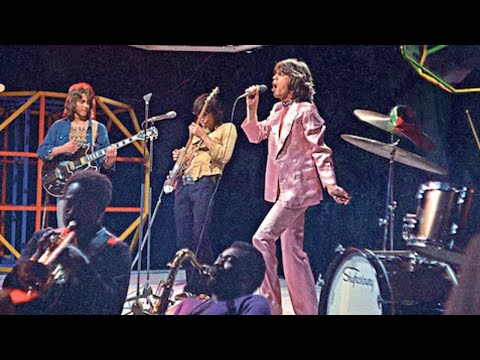 The Rolling Stones - Brown Sugar (Top of the Pops)
