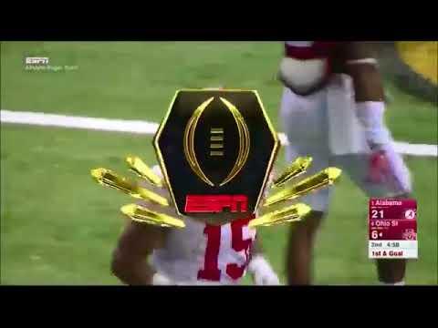 best service 40117 4597a Buckeye Throwback: Ezekiel Elliott Highlights vs Alabama in 2015 Sugar Bowl
