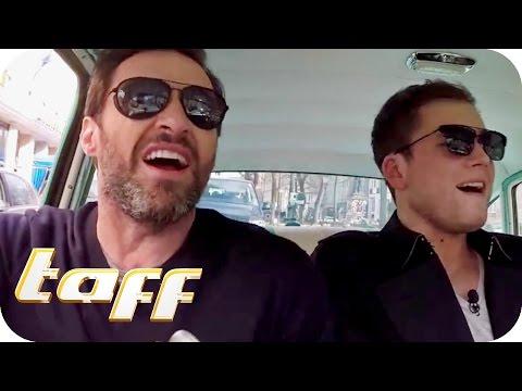 Karaoke mit Hugh Jackman und Taron Egerton | taff | ProSieben