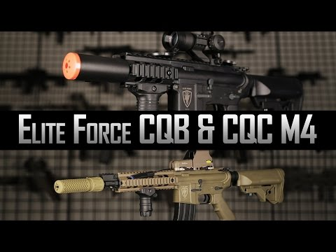 Next Gen. Elite Force M4 CQB & CQC Overview - Airsoft GI