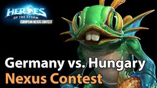 ► Heroes of the Storm Nations Cup: Germany vs. Hungary - Groupstage