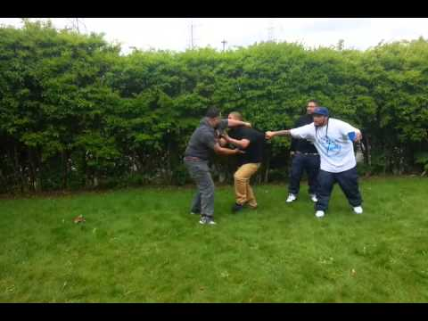 S.O.S CRIP vs. S.O.S BLOOD Gang Fight WORLDSTAR 2015 - YouTube