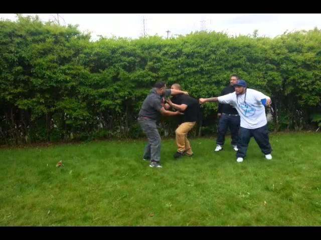 S.O.S CRIP vs. S.O.S BLOOD Gang Fight WORLDSTAR 2015