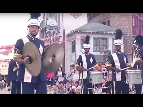 Cool Universal Studio Drum Show performance