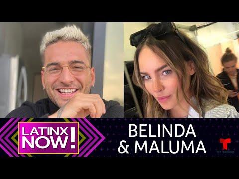 Belinda Y Maluma Incendian Las Redes Al Cantar En Vivo Juntos | Latinx Now! | Entretenimiento